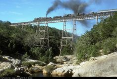 RailPictures.Net Photo: GO-2575 + GL-2351 South African Railways Steam 4-8-8-4 at Maalgateriver, South Africa by W.+H. Brutzer