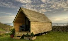 The Log Pod Tiny Cabin - perfect guest cabin