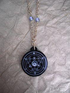 Fullmetal Alchemist Equivalent Exchange Necklace by AriesNamarie, $15.00