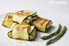 Raviolis vegetales de calabacín