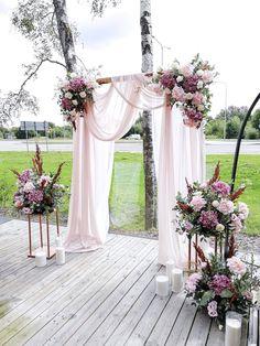 Floral Wedding, Rustic Wedding, Wedding Flowers, Wedding Ideas, Fall Wedding, Wedding Bouquets, Wedding Ceremony Arch, Church Wedding Decorations, Dream Wedding