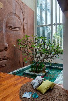 Indian Home Design, Indian Home Interior, Indian Interiors, Kerala House Design, Home Room Design, Home Interior Design, Living Room Designs, Living Room Decor, Bedroom Decor