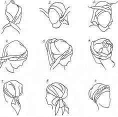 About HappyHeads Head Wraps - Headcovering Scarves - Chemotherapy Head Wrap