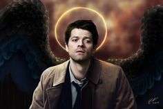 Like Cas has a golden halo
