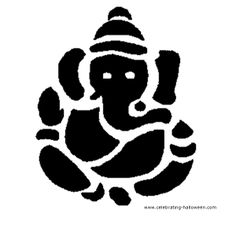 Ganesha – Free Pumpkin Carving Pattern