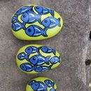 Fish Pebbles by Heart in Art
