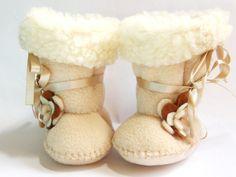 Bambin bottes Ugg molleton bébé bottes Ugg bottes Toddler bottillons Faux peau de mouton fourrure bambin fille chaussures demoiselle dans Cafe Latte
