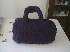 sapori di lana: BAULETTO VIOLA