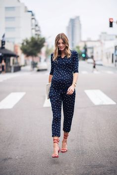 Navy Grace Blog by Camilla Thurman || Maternity Style