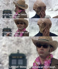 Try to make an Ood laugh.
