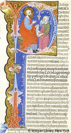 Bible, MS M.436 fol. 388r - Images from Medieval and Renaissance Manuscripts - The Morgan Library & Museum