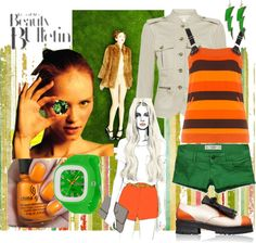 """""""a tree of orange"""" by sunkissed1020 on Polyvore"""