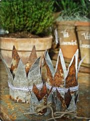 More tin crowns.
