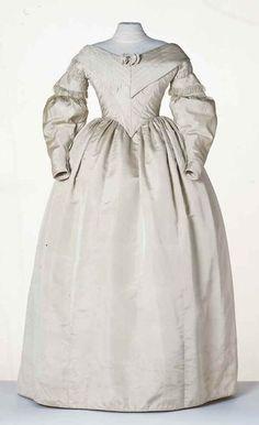 Woman's dress, 1837 - 1839