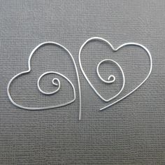 Graceful Tribal sterling silver hoops!  Beautifully hand formed and hammered for texture. I have shaped them into a feminine tribal style