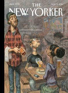 "Cover Story: Peter de Sève's ""Hip Hops"" - The New Yorker"