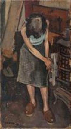 Figura di donna by Italo Cremona