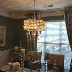 Willa Arlo Interiors Albano 4-Light Crystal Chandelier & Reviews | Wayfair Rectangle Chandelier, Drum Pendant, Drum Shade, Candelabra, Glass Shades, Canopy, Glow, Bulb, Interiors