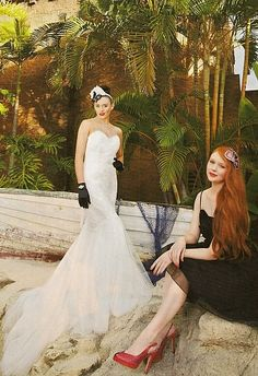 KAREN WILLIS HOLMES - Bride to Be Magazine - Allegra