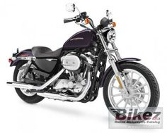 The bike I want!  Harley Sportster 883!