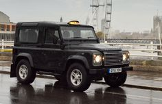 Watch The Land Rover Defender Take Over London. The world's coolest taxi.