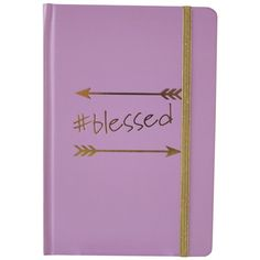 TRICOASTAL DESIGN Blessed Bound Journal (110 MXN) ❤ liked on Polyvore featuring home, home decor, stationery and multi