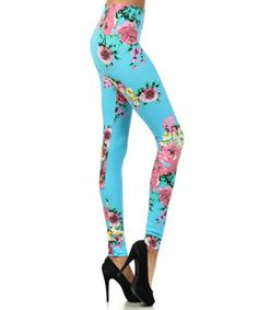 Tika Floral Printed Leggings