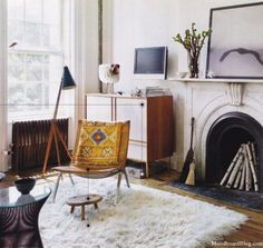 this is a great room, but I'm actually cataloging this so I remember that fireplace this winter!