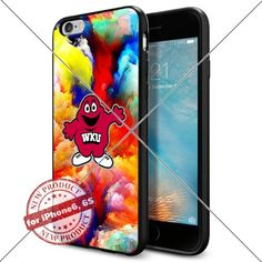 WADE CASE Western Kentucky Hilltoppers Logo NCAA Cool Apple iPhone6 6S Case #1705 Black Smartphone Case Cover Collector TPU Rubber [Colorful] WADE CASE http://www.amazon.com/dp/B017J7HKZ4/ref=cm_sw_r_pi_dp_S7mtwb1GFB815