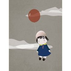 Oopsy Daisy - Freely Floating Canvas Wall Art 18x24, Rachel Mosley