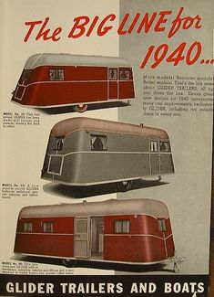 Retro Campers | ... Vintage Campers, Vintage Trailers, Vintage Parts, Vintage Restorations
