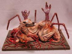 """John Carpenter's """"The Thing"""" alien immortalized as a figurine for your home."""