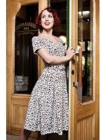 Find unique dresses at Daisy Dapper, dresses in newly-produced. We have dresses for all occations! 50s Dresses, Unique Dresses, Leopard Dress, Rockabilly, Dapper, Vintage Outfits, Vintage Clothing, Retro Vintage, 1950s