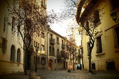 uno de los barrios mas lindos de santiago <3 paris-londres