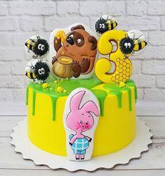 759 отметок «Нравится», 7 комментариев — Tastygram (@tastygram.ru) в Instagram: «Мишка очень любит мёд. Отчего? Кто поймёт! Неизвестно почему мед так нравится ему ..  тортик…»