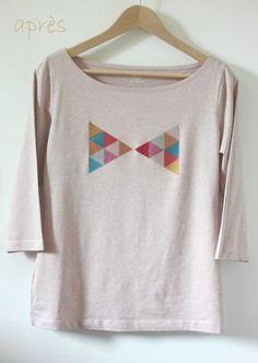 Customiser un tee-shirt de façon graphique et coloré
