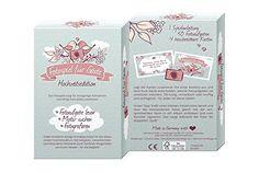 Fotospiel Hochzeitsedition Kartenbox mit 50 kreativen Fotoaufgaben (Hochzeitsspiel für Gäste & Brautpaar) Lustige Hochzeitsbilder & Konstellationen garantiert - Eisbrecher für jede Hochzeit!