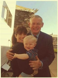 Doc Martin actually smiling. Wow, never thought I'd see that.