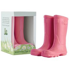 Welly Boot Soaps in Pink