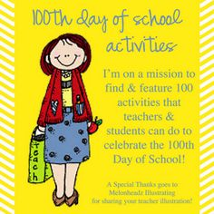 tons of links to 100's day ideas