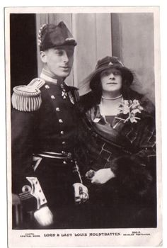 Louis and Edwina Mountbatten