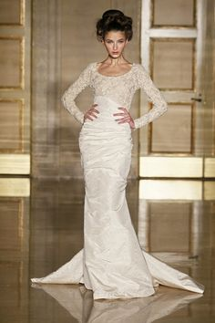 DOUGLAS HANNANT SS13 BRIDAL FASHION WEEK 10/12/2012