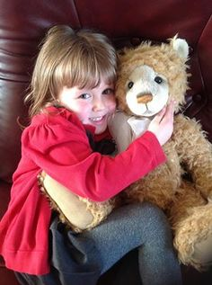 From Charlie Bears collector - Rebecca Horton (daughter Grace in Picture)