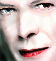 David+Bowie+by+brainfree