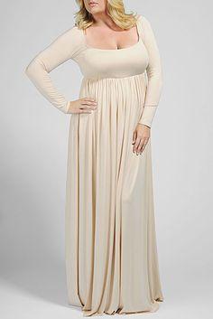 Rachel Pally Official Store, ISA DRESS, cream, White Label : Dresses : Long Dresses, FA12740DW