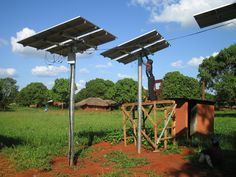 UNEP Report Finds Significant Emissions Gap Must Be Bridged. Limiting global warming to 2 degrees C will require national and international action. Photo credit: Solar Electric Light Fund, Flickr