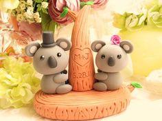 koala cake topper