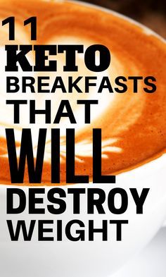 These 11 Easy Low Carb, Keto Breakfasts are the perfect way to start your morning on the right foot! These healthy, gluten free, and easy low carb meals that include pancakes, keto coffee, chaffles, flaxseed muffins, and lots of other fun ideas. | Olivia Wyles | Keto Lifestyle Guide | Low Carb Recipes Keto Diet Guide, Keto Food List, Low Carb Protein, Low Carb Keto, Ketogenic Recipes, Low Carb Recipes, Ketogenic Diet, Flaxseed Muffins, Low Carb Breakfast