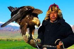 The Golden Eagle Hunters of Mongolia. Altai Eagle Festival