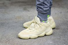 new product 87f3b 8827c Adidas Yeezy 500 Supermoon Yellow On Feet Sneaker Review. Adidas Sneakers Nike HuaracheSko ...